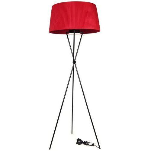 Lampa podłogowa sticks insp. tripod czerwony marki D2
