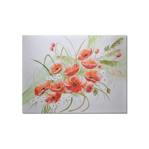 maki, polne kwiaty, nowoczesny obraz ręcznie malowany (obraz)