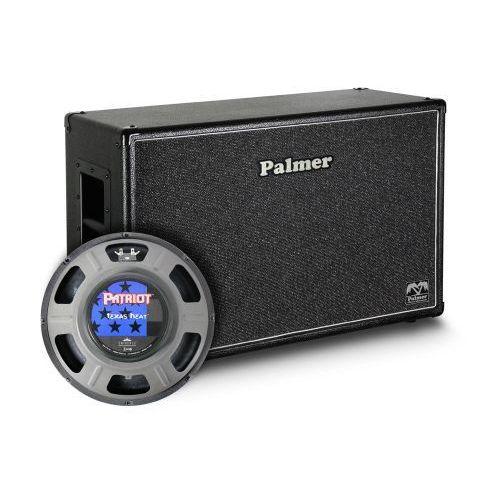 Palmer MI CAB 212 TXH OB kolumna gitarowa 2 x 12″ z głośnikami Eminence Texas Heat, 8/16Ohm, otwarta z tyłu
