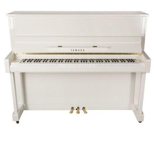 b3 e pwh pianino (121 cm), kolor biały, połysk (polished white) marki Yamaha