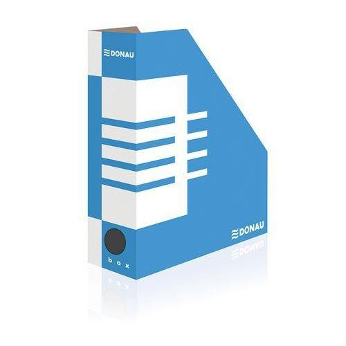 Pojemnik na dokumenty (czasopisma) Donau A4 niebiesko-biały (7648001PL-10), BP9078