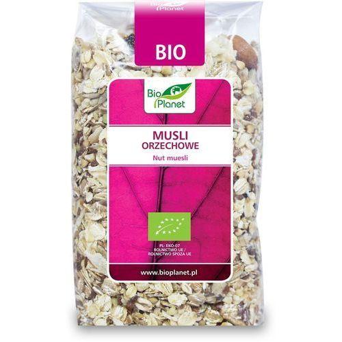 Bio planet : musli orzechowe bio - 300 g (5907814665966)