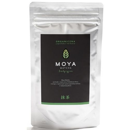 Organiczna japońska zielona herbata matcha tradycyjna 50g - moya matcha marki 072moya matcha