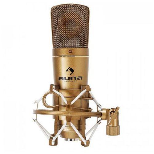 CM600 studyjny mikrofon pojemnościowy USBbrązowy