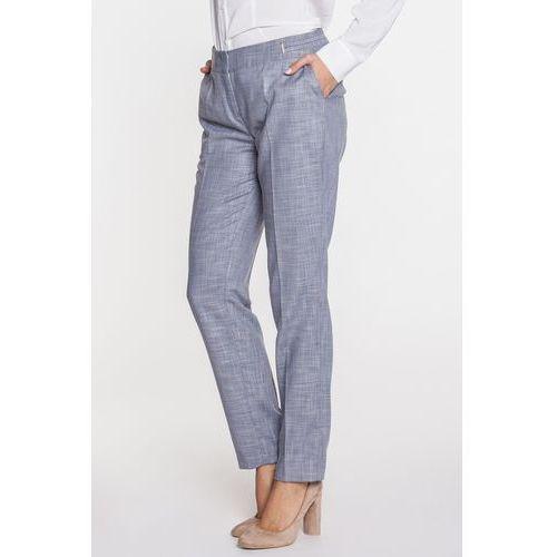 Szare spodnie z kantem - marki Potis & verso