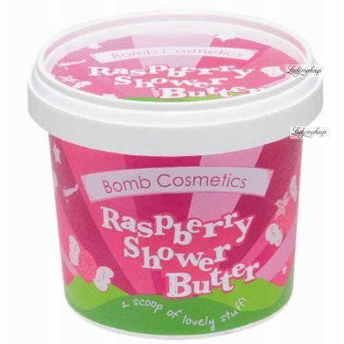 Bomb cosmetics - raspberry - shower butter - myjące masło pod prysznic - malinowa rozkosz