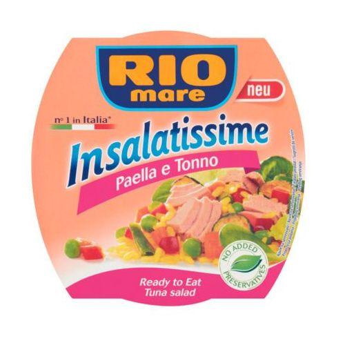 Rio mare 160g insalatissime paella e tonno gotowe danie z ryżu warzyw i tuńczyka