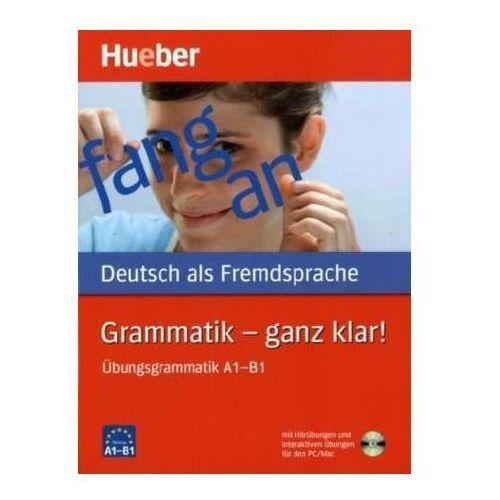 Grammatik – Ganz Klar! + CD (9783190515554)