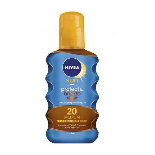 Nivea Sun Protect & Bronze Oil Spray SPF20 200ml W Opalanie
