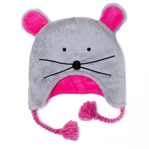 czapka zimowa sowa/myszka l marki Flapjack