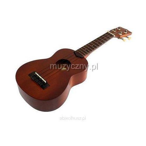 Noir nu1s brown ukulele sopranowe