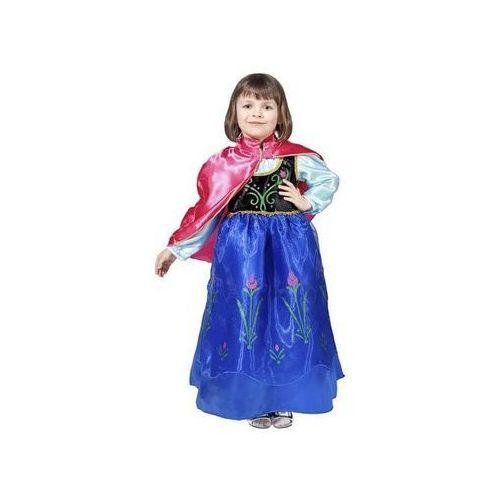 2cc801e5d Kostium księżniczka anna - roz. s marki Go 54,99 zł STRÓJ ANNAFantazyjny  kostium składa się z sukienki z czarną górą udekorowaną roślinną aplikacją  oraz ...