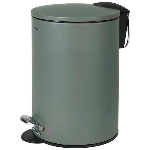 Kosz na śmieci 3 litry Blomus TUBO - agave green stal lakierowana (4008832690341)