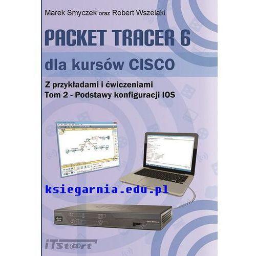 Packet Tracer 6 dla kursów CISCO Tom 2 - Podstawy konfiguracji IOS (187 str.)