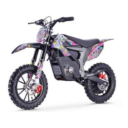 Stomp Wired Pit bike elektryczny - Splatter