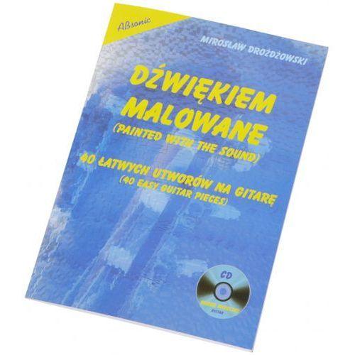 drożdżowski mirosław ″dźwiękiem malowane - 40 łatwych utworów na gitarę″ książka + cd marki An