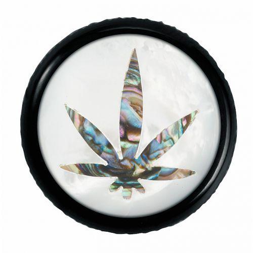 Warwick war-30515-bk-cannabis st knopf, rund 4-6mm, cannabis, sw st knob, round 4-6mm, cannabis, bk, gałka potencjometru