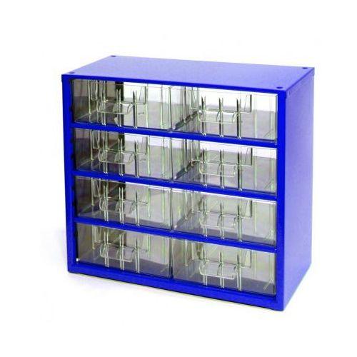 Metalowe szafki z szufladami, 8 szuflad