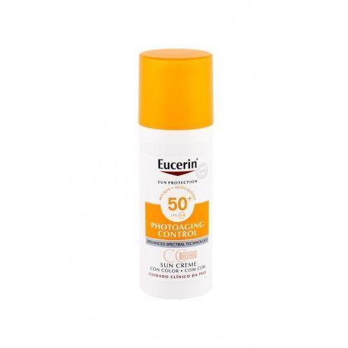 Eucerin sun photoaging control cc cream spf50+ preparat samoopalający do twarzy 50 ml unisex medium