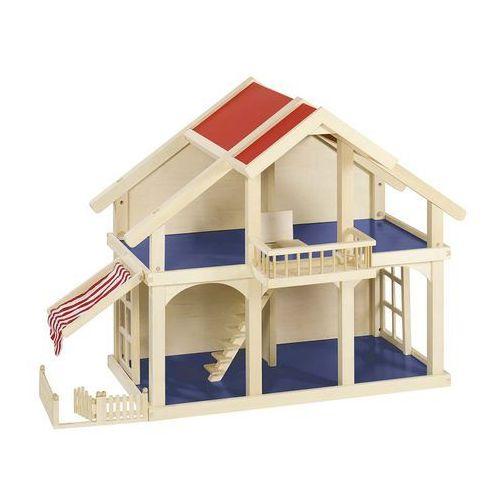 Goki, Dwupiętrowy domek dla lalek z werandą i balkonem - produkt dostępny w Smyk