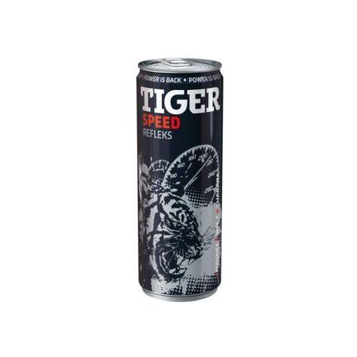 Napój energetyzujący Tiger Speed gazowany 250 ml (5900334010315)