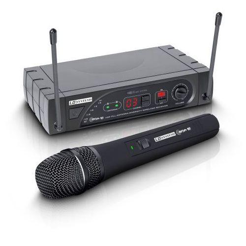 Ld systems eco 16 hhd b 5 bezprzewodowy system mikrofonowy z ręcznym mikrofonem dynamicznym, 16-kanałowy