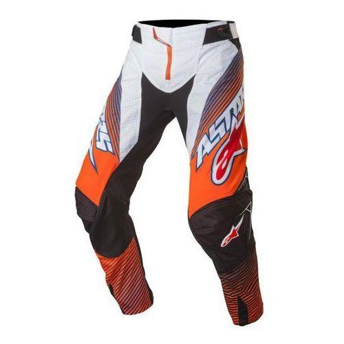 Spodnie alpinestars techstar factory s7 or fluo/b/w marki Alpinestars mx