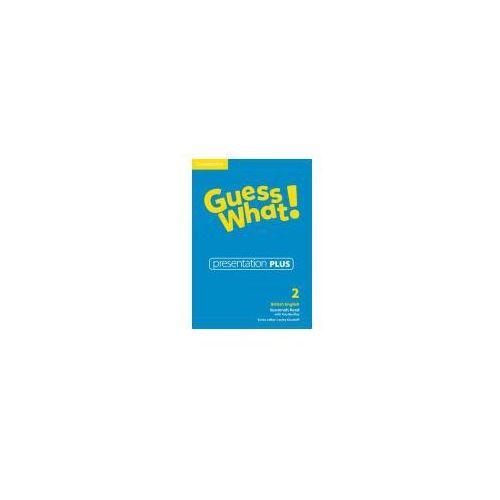 Guess What! 2 Presentation Plus DVD, Cambridge University Press