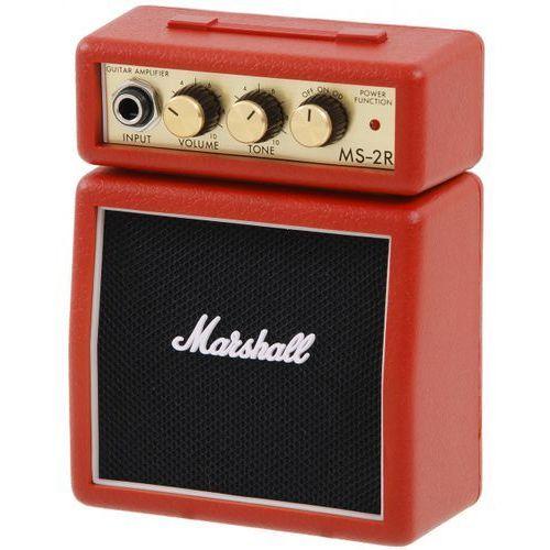 ms 2 red mini wzmacniacz gitarowy marki Marshall