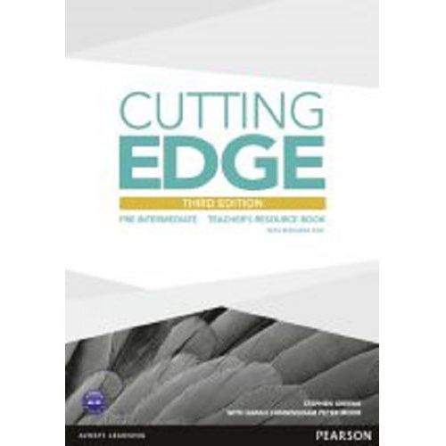 Cutting Edgde pre-intermediate Teacher's resource book + CD, oprawa miękka