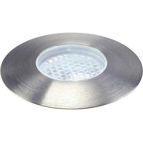 Lampa podłogowa z 4 diodami LED, biała - oferta [b5b1dfa43fa3d2ff]