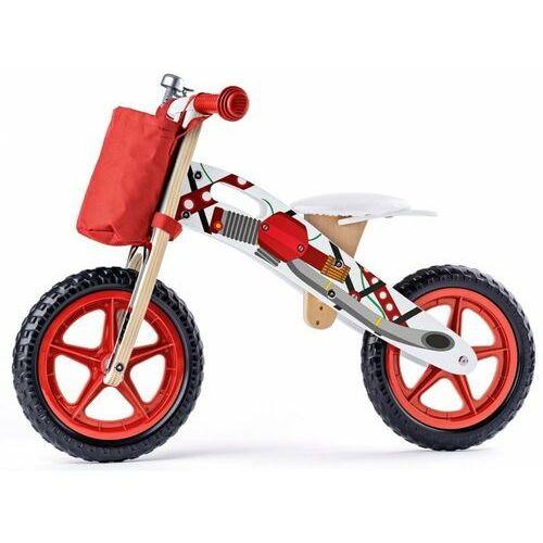 jeździk-motocykl, czerwony marki Woody