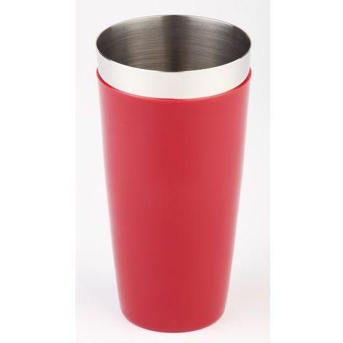Shaker bostoński ze szklanką 0,7 l, czerwony | APS, 93136