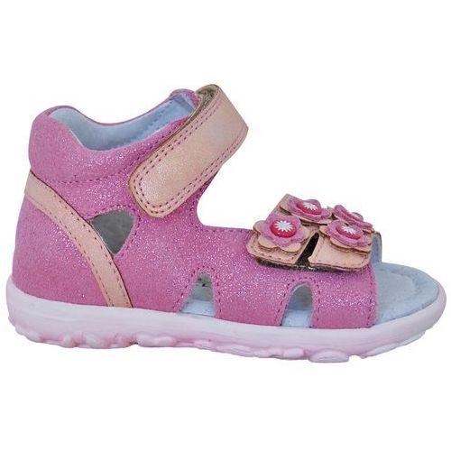 b859e3fa44 Protetika sandały dziewczęce Ember 26 różowe