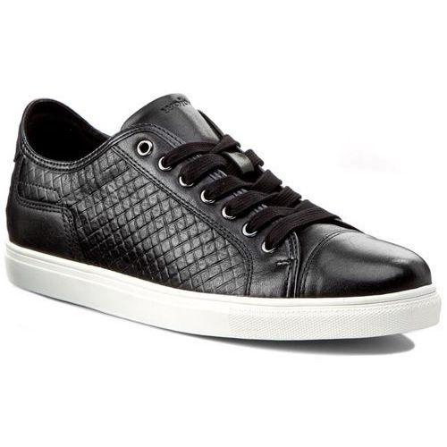 Sneakersy WOJAS - 5077-51 Czarny