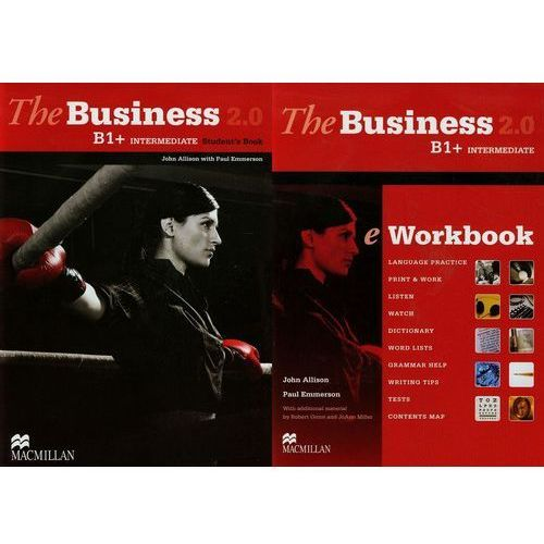 The business B1+ intermediate Student's book + CD + eWorkbook 2.0, Allison John, Emmerson Paul