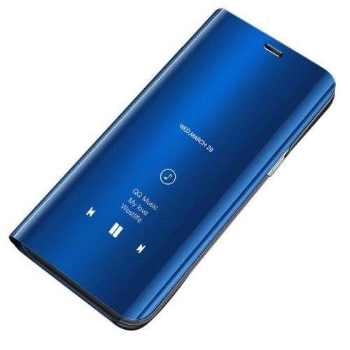 Hurtel Clear view case futerał etui z klapką xiaomi redmi note 5 (dual camera) / redmi note 5 pro niebieski