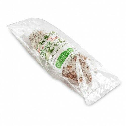 Salami z fenkułem bezglutenowe bio 160 g - primavera marki Primavera (wędliny wieprzowe)