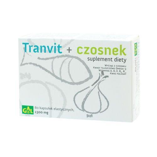 Tranvit + Czosnek 80 kaps. (5907501110441)