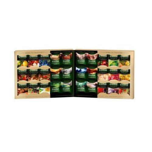 premium tea collection zestaw 30 smaków herbat i naparów owocowo-ziołowych marki Greenfield
