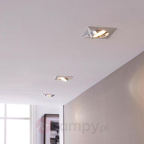 Lampa wpuszczana w sufit Andrej z LED, 3-cz. zest.