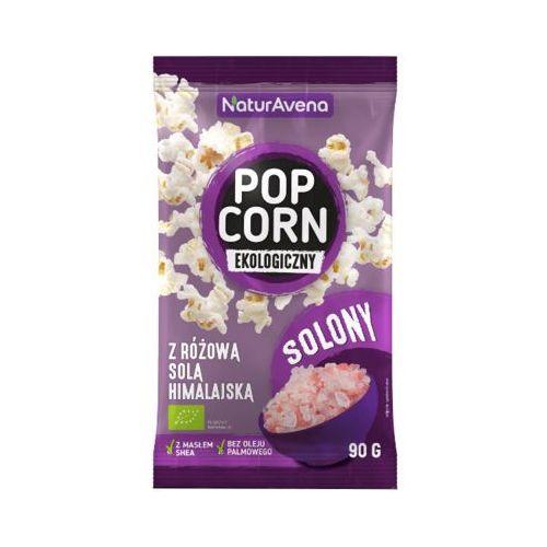 90g popcorn z solą himalajską bio marki Naturavena