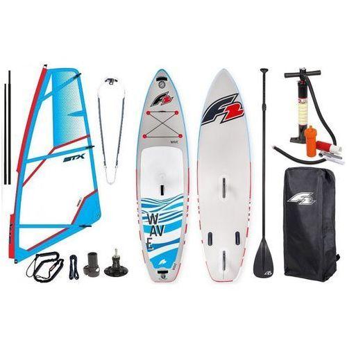 """Zestaw windsurfingowy-deska wind sup wave 10'5"""" + pednik stx power 2019 marki F2"""