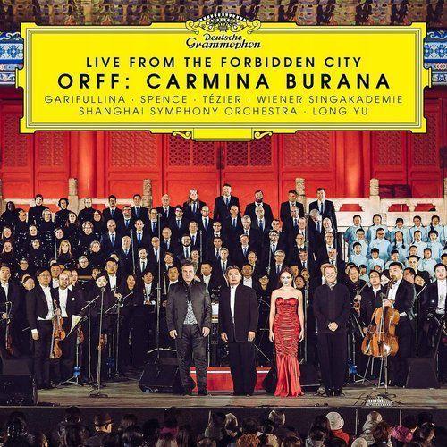 Various artists Live from the forbidden city (orff carmina burana) - różni wykonawcy (płyta cd)