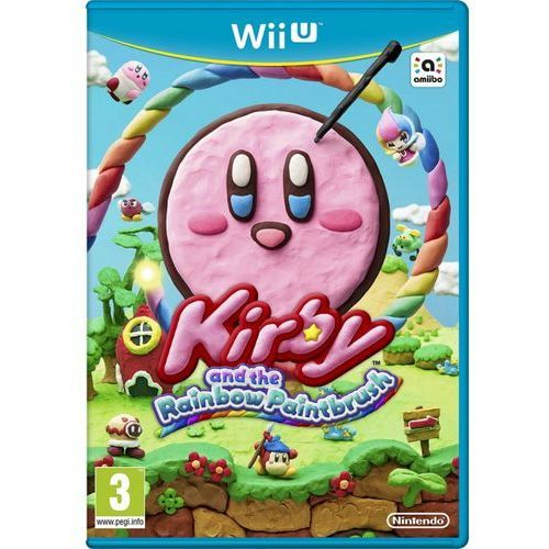 Kirby and Rainbow Paint Brush (Wii U)