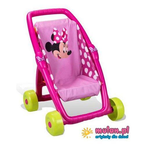 Smoby spacerówka wózek dla lalek Minnie Mouse 18m+ 513833 - oferta [95046b2845b553c2]