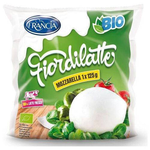 Mozzarella dystrybutor: bio planet s.a., wilkowa wieś 7, 05-084 leszno Mozzarella (1 duża kulka) bio 125 g - francia (4012642000139)