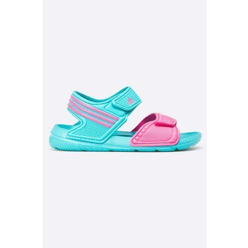 adidas Performance - Sandały dziecięce Akwah 9 K - produkt dostępny w ANSWEAR.com