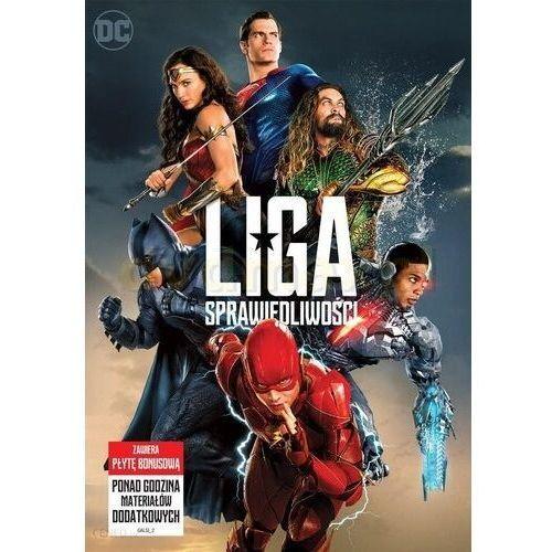 Zack snyder Liga sprawiedliwości (2dvd) (płyta dvd)