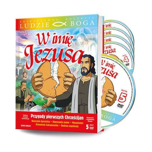 W imię jezusa - książka + 5 dvd + film dvd marki Praca zbiorowa
